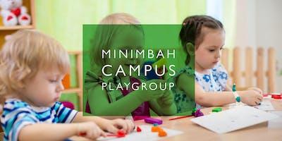 Playgroup at Minimbah 2019