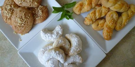 Greek biscuits cooking class tickets