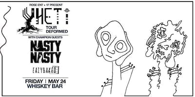 Rose Ent and 1F Present: Yheti w/ NastyNasty and Eazybaked