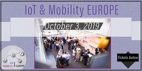 IoT & Mobility EUROPE tickets