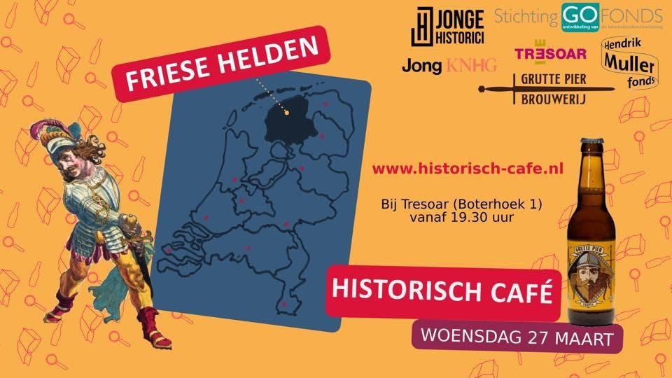 Jong Historisch Café over het thema Friese He