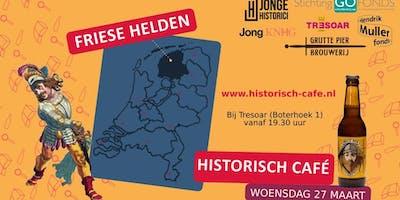 Jong Historisch Café over het thema Friese Helden