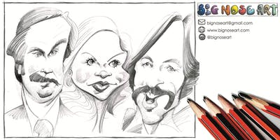 Anyone Can Draw Caricatures Workshop - ADULTS