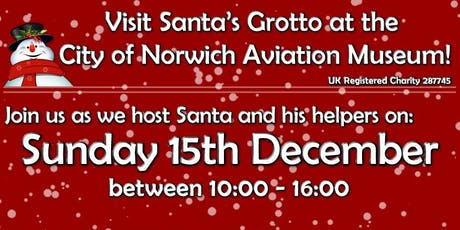 Father Christmas lands at Norwich Aviation Museum! tickets