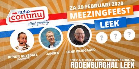 MeezingFeest 2020 tickets