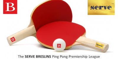 SERVE BRESLINS - Launch of the Ping Pong Premiership League