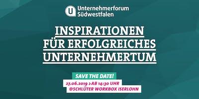 Unternehmerforum Südwestfalen 2019