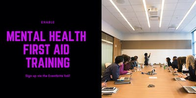 Mental Health First Aid Training 2 Day for Adults - Enable