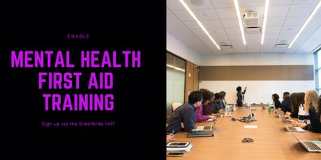 Mental Health First Aid Training 2 Day for Adults - Enable tickets