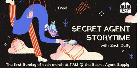 Secret Agent Storytime tickets