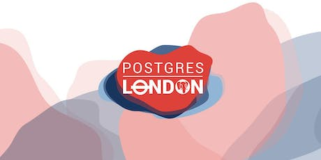 PostgresLondon 2019 tickets