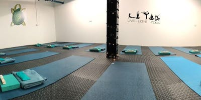 Turtle Yoga Wednesday Sessions 7-8pm
