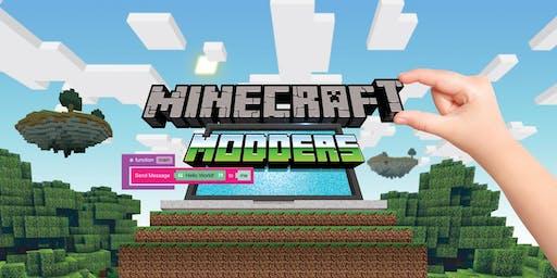 Summer Camp- Fab Lab- Minecraft Modders- Video Game- kids