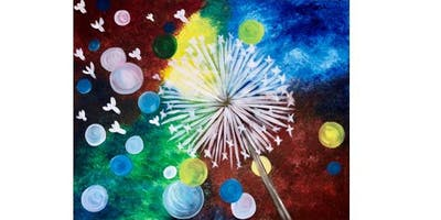 Elsa's Mexican Restaurant - Dandy Dandelion - Paint Party