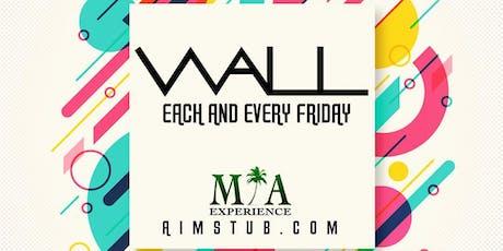 Wall Fridays at WALL Lounge Miami tickets