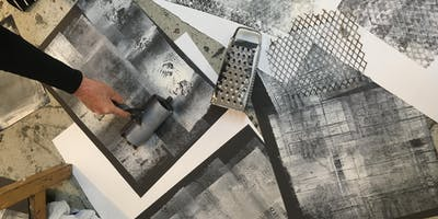 Surface Impressions- Experimental Printmaking