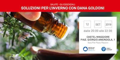 12/09/2019 Oli Essenziali: – REPLICA -Come affrontare l'inverno e i disagi di stagione per grandi e piccini. CASTEL MAGGIORE