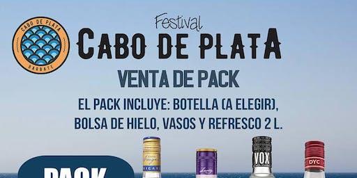 Pack Bebida -  Festival Cabo de Plata 2019