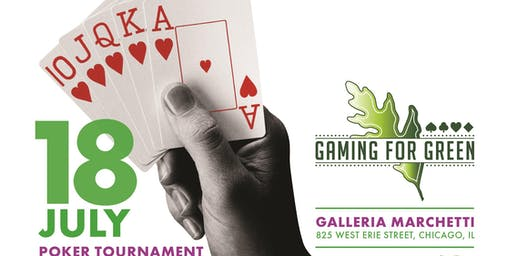 Gaming for Green Poker Tournament & Casino Night Fundraiser - 14th Annual