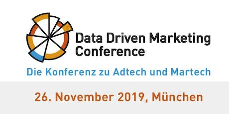 DDMC - Data Driven Marketing Conference 2019 tickets