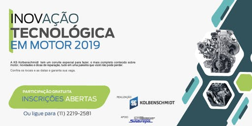 Inovação Tecnológica em Motor 2019 - São José dos Campos