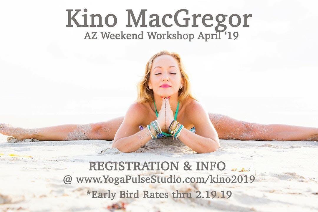 Kino MacGregor Weekend Yoga Workshop