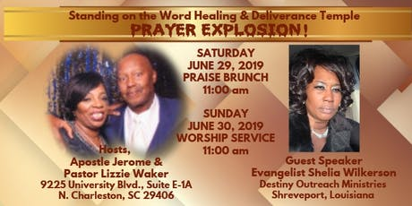 PRAYER EXPLOSION!!! tickets