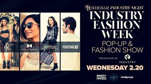 Industry Fashion Week: Pop-Up & Fashion Show