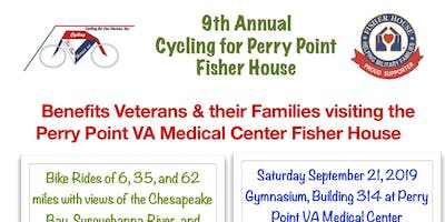 Cycling for Perry Point Fisher House