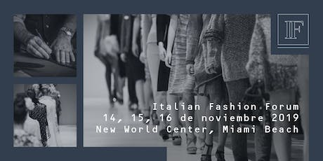 Italian Fashion Forum entradas