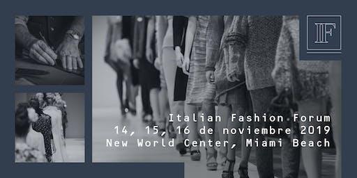 Italian Fashion Forum