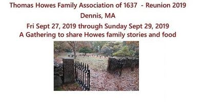Howes Family Reunion