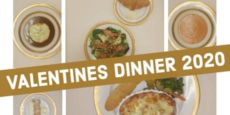 Customs Cafe Valentines Dinner 2020 tickets