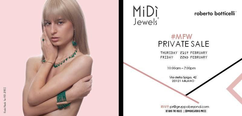 #MFW2019 | MiDì JEWELS PRIVATE SALE