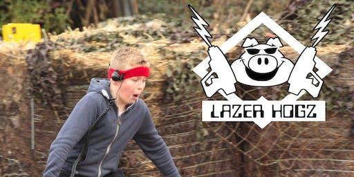 Halloween Lazer Hogz Outdoor Laser Tag - Zombie Free