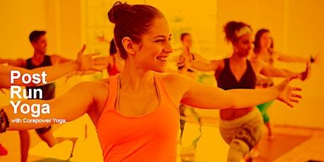 Fleet Feet Running Club: Post Run Yoga With Corepower Yoga tickets