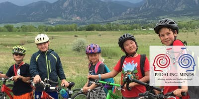 Pedaling Minds Intermediate/Proficient Riding Camp Age 8 -11 (7/22-7/26)-Full Day SA