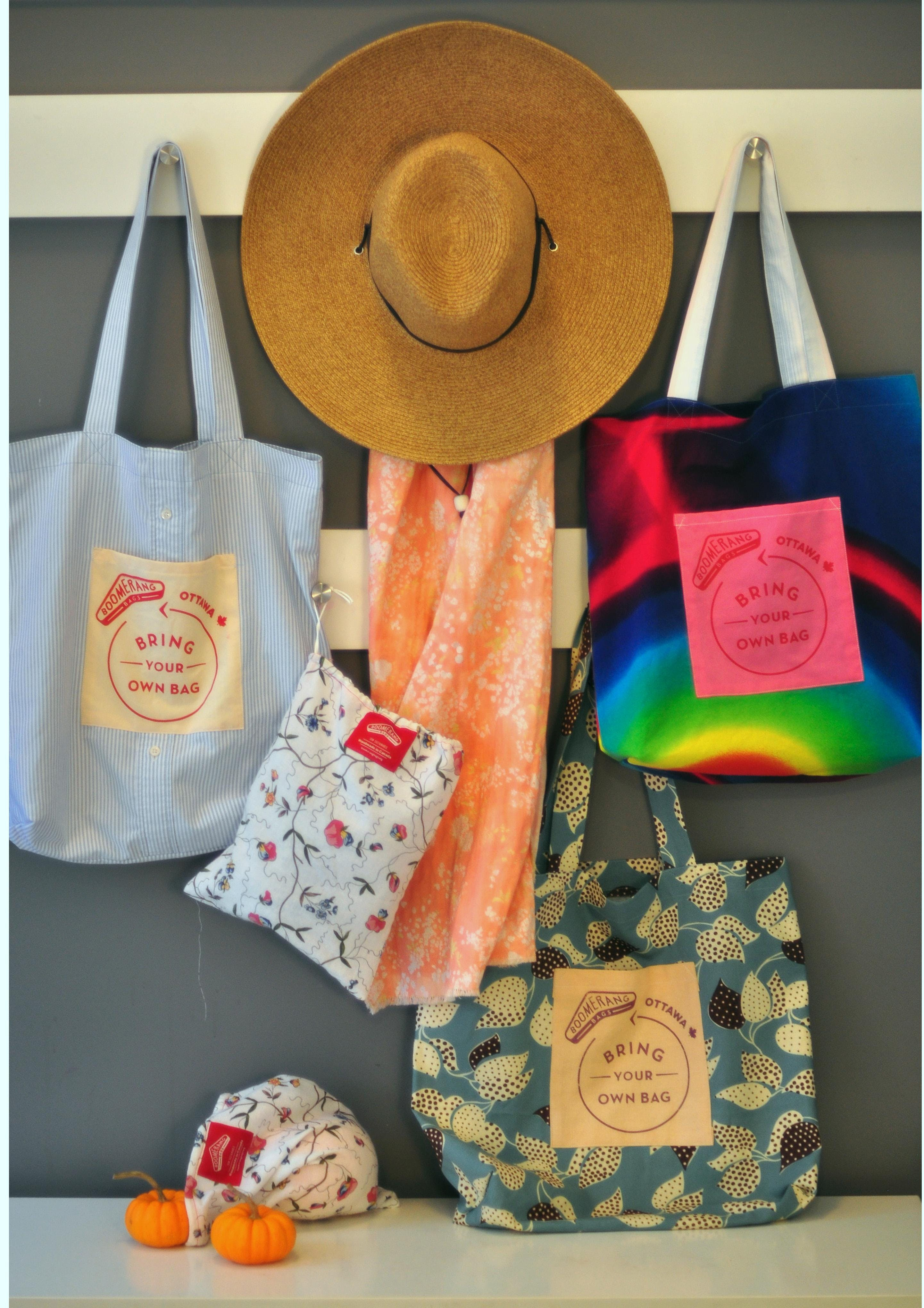Make Your Own Shopping Bag from Recycled Fabr