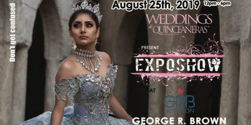 Weddings & Quinceaneras Expo August 25th @ GRB Convention Center
