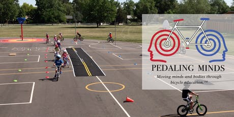 Pedaling Minds: Beginner / Early Intermediate Skills Camp ages 5-13 (7/29-8/2) - Half Day CS tickets