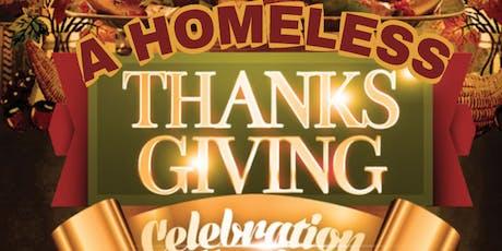 3rd Annual A Homeless Thanksgiving tickets