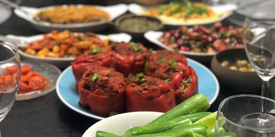 Tasty Talks - 3 course Vegetarian Mediterranean Dinner