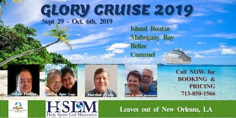 Glory Cruise 2019 tickets