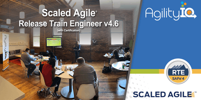 SAFe® Release Train Engineer 4.6 with RTE Certification