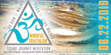 Ohm Yoga Studio Mindful Triathlon tickets