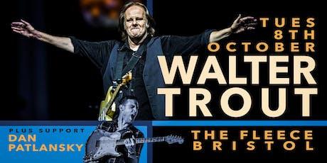 Walter Trout + Dan Patlansky tickets