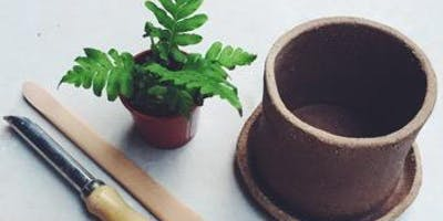 Make your own pottery planter