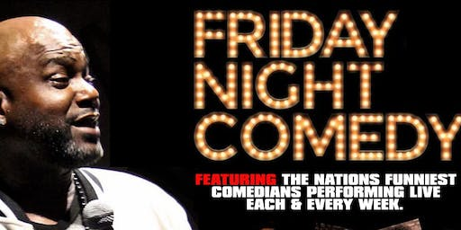 Friday Night Comedy at Suite Food Lounge