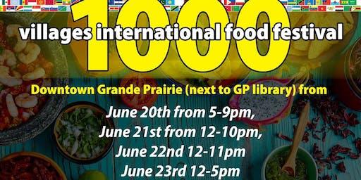 1000 Villages Int'l Food festival (Vendor Link)