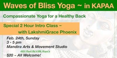 Waves Of Bliss Yoga with LakshmiGrace Phoenix